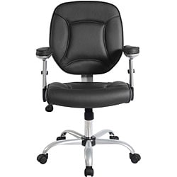 Black Ergonomic Manager's Office Chair
