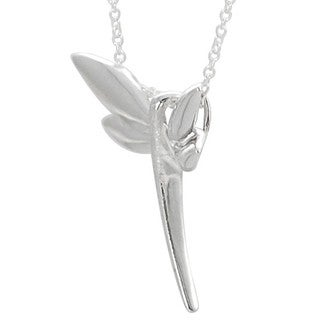 Tressa Sterling Silver Dragonfly Necklace