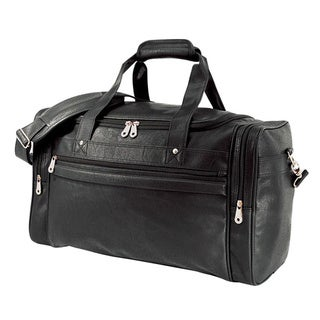 G Pacific by Traveler's Choice 21-inch Koskin Man-made Leather Carry On Sport Duffel Bag