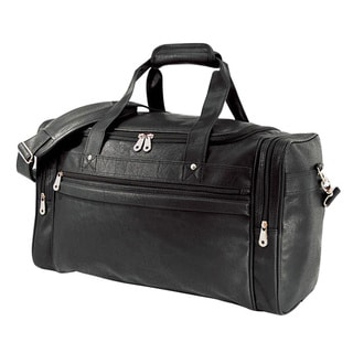 G Pacific 21-inch Koskin Man-made Leather Carry On Sport Duffel Bag