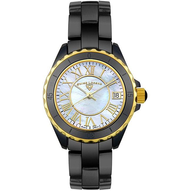 Swiss Legend Unisex Ceramic Watch