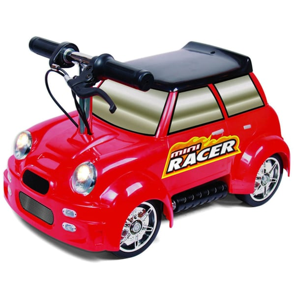 Red Mini Racer Ride-on Car