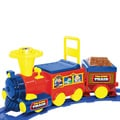 Battery-operated Ride-on Talking Toy Train and 19-foot Track