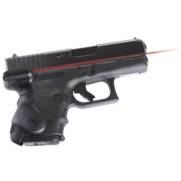 Crimson Trace Lasergrip for Sub-compact Glock Pistol