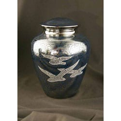 Wings of Freedom Large/ Adult Brass Urn