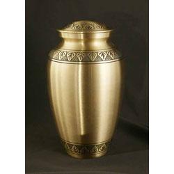 Athena Bronze Large/ Adult Brass Urn