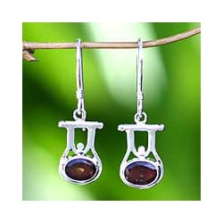 'Honor' Garnet Earrings (Indonesia)
