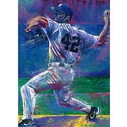 Bill Lopa 'Mariano Rivera' Poster (20 x 32)