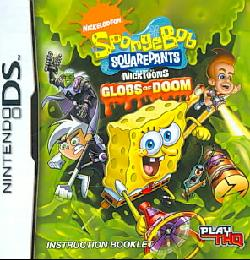 NinDS - SpongeBob SquarePants Featuring Nicktoons: Globs of Doom