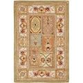 Safavieh Transitional Handmade Classic Empire Wool Panel Rug (5' x 8')