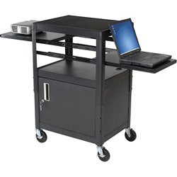 Balt Adjustable Dual-laptop Cart