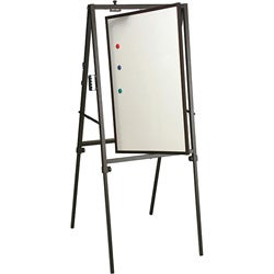 Balt Portable Height-adjustable Double-sided Spinner Easel with Handle