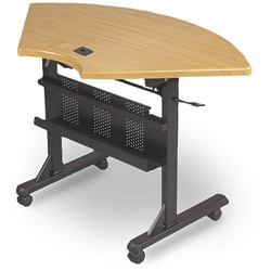Balt Flipper Half-Round Training Table