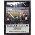 Texas Stadium Collectible Stat Plaque