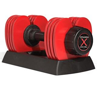Stamina 50-pound Versa Bell II Adjustable Dumbbells (Set of 2)