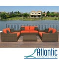 Lexington All Weather Aluminum/ Wicker Patio Set