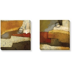 DeRosier 'Grand Gesture Series' Canvas Art Set