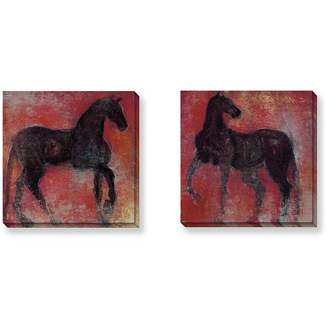 Maeve Harris 'Nonius Series' Canvas Art Set