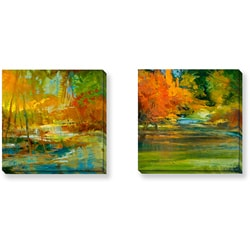 Gallery Direct Sylvia Angeli 'Late Summer's Expectation Series' Art Set