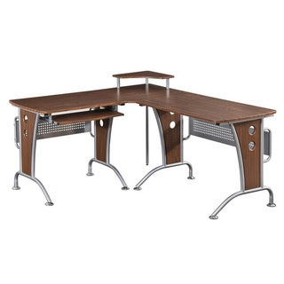 Deluxe Loft-style L-shaped Computer Desk