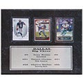 Dallas Cowboys' 9x12 Big 3 Card Plaque