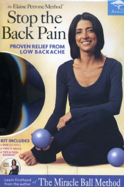 The Elaine Petrone Method: Stop The Back Pain (DVD)