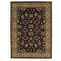 Hand-tufted Saiba Brown Wool Rug (8' x 10'6)