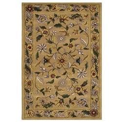 Hand-tufted Gopala Beige Wool Rug (8'9 x 13')