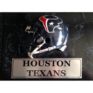 Houston Texans 9x12 Helmet Plaque
