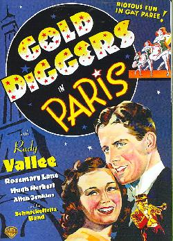 Gold Diggers in Paris (DVD)