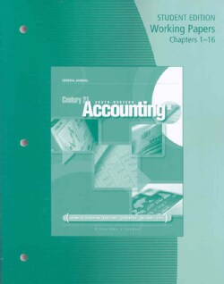 Century 21 South-Western Accounting: General Journal Working Papers Chapters 1-24 (Paperback)