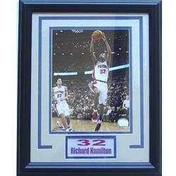 Richard Hamilton 11x14 Deluxe Sports Plaque