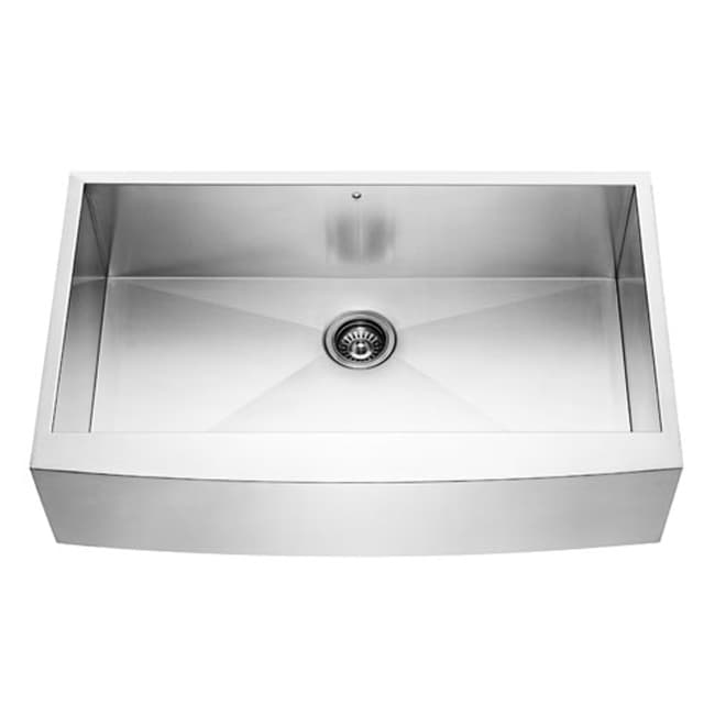 36 Inch Kitchen Sink : 36-inch Farmhouse Stainless Steel 16 Gauge Single Bowl Kitchen Sink ...