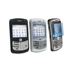 Eforcity 3-piece Accessory Kit for Blackberry Curve 8330