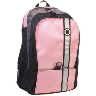 DaisyGear Retro Pink with Stripe Diaper Backpack