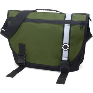 DadGear Green Retro Stripe Diaper Bag