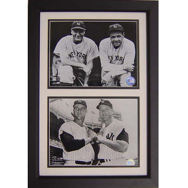 New York Yankees Legends 12x18 Framed Print