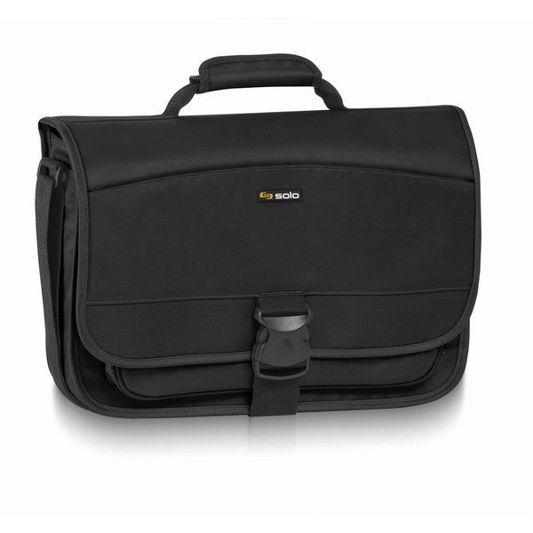 SOLO Classic Expandable Messenger/Laptop Bag