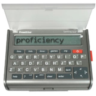 Franklin SA-309 Spelling Ace Pro & Puzzle Solver