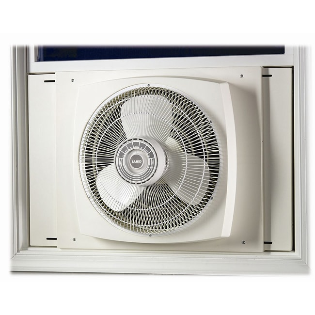 Lasko 16 in reversible window fan appliances fans for 17 wide window air conditioner
