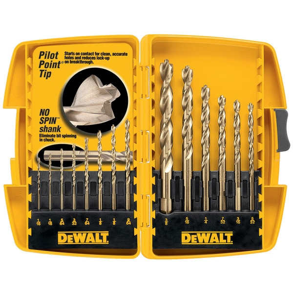 Black & Decker 14-Piece Pilot Drill Bit Set