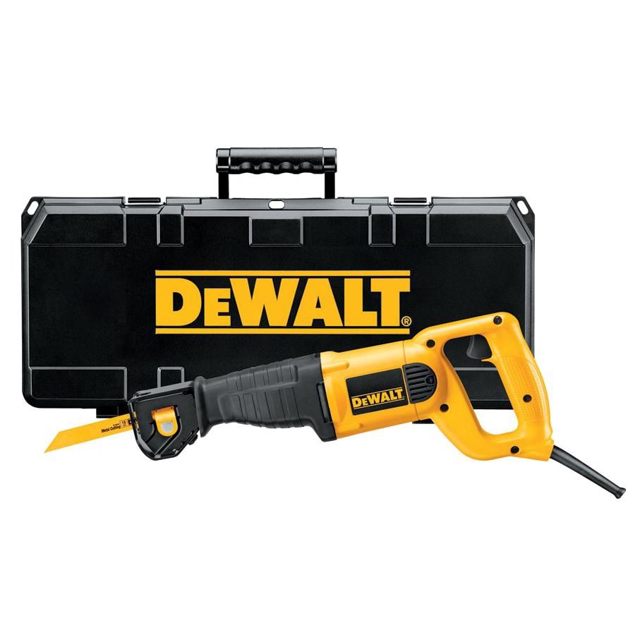 DeWalt Reciprocating Saw 10A Kit