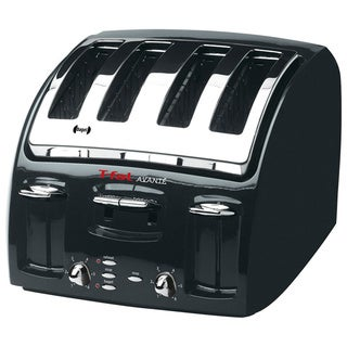 T-Fal 5332002 Black Avante 4-slice Classic Toaster
