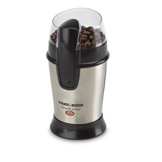 Black & Decker CBG100S Stainless Steel Coffee Bean Grinder
