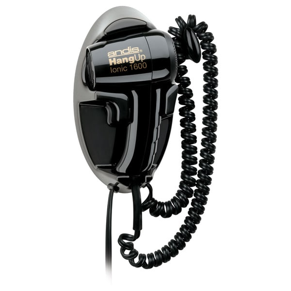 Andis Black 1600W Hang-up Hair Dryer