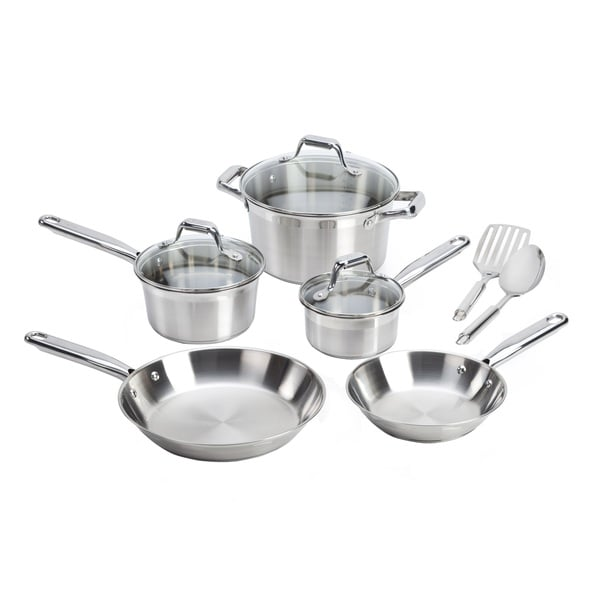 T-Fal Elegance Interior Measuring Marks 10-piece Cookware Set