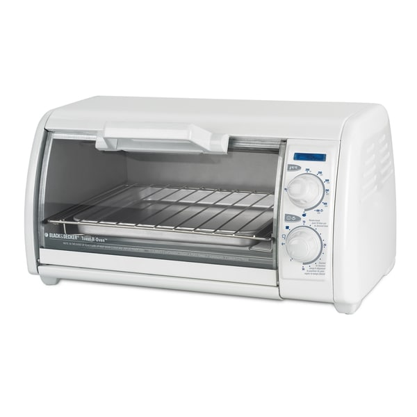 Black & Decker White Classic Toast-R Oven
