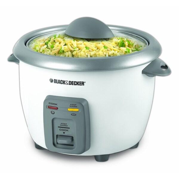 Black & Decker 6-cup Rice Cooker