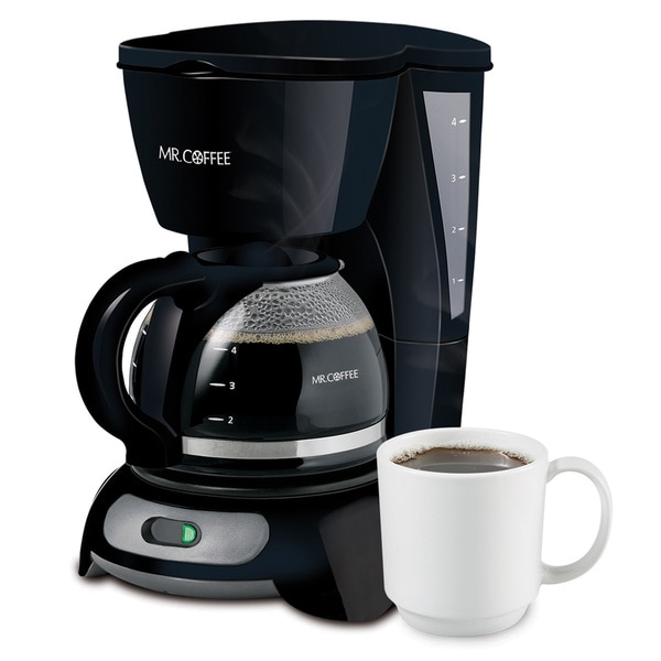 Mr. Coffee TF5 4-cup Simple Brew Switch Coffee Maker