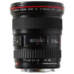 Canon EF 17-40mm f/ 4L USM Ultra Wide Zoom Lens